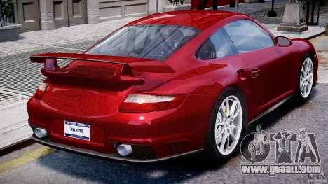 Posrche 911 GT2 for GTA 4 upper view