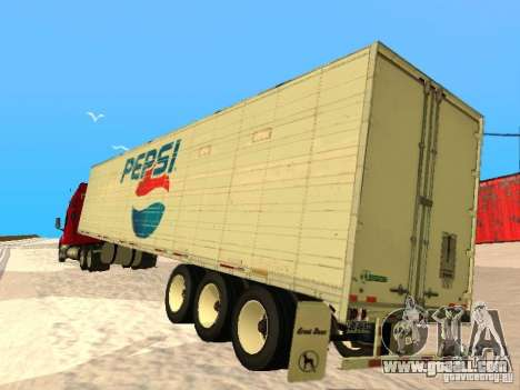 Trailer Artict3 for GTA San Andreas right view