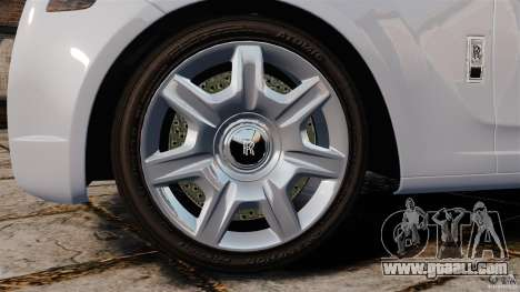 Rolls-Royce Ghost 2012 for GTA 4 side view
