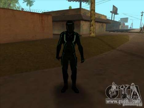 A character from the game Tron: Evolution for GTA San Andreas fifth screenshot