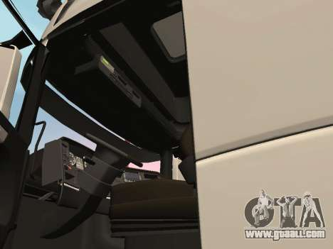 Scania R700 Euro 6 for GTA San Andreas inner view