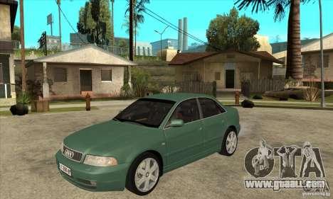 Audi S4 2000 for GTA San Andreas