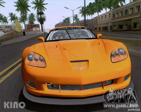 Chevrolet Corvette C6 Z06R GT3 v1.0.1 for GTA San Andreas side view