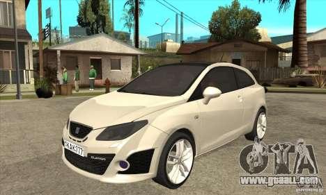 Seat Ibiza Cupra 2009 for GTA San Andreas