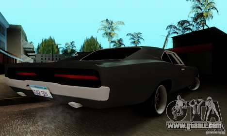 Dodge Charger RT for GTA San Andreas side view