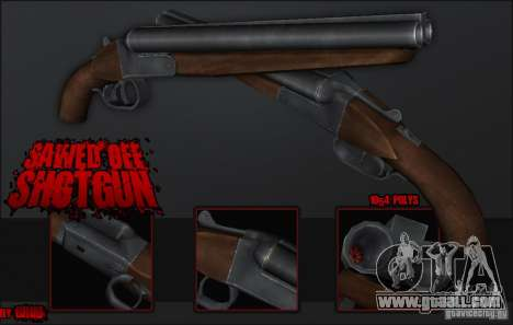 Sawedoff Shotgun for GTA San Andreas
