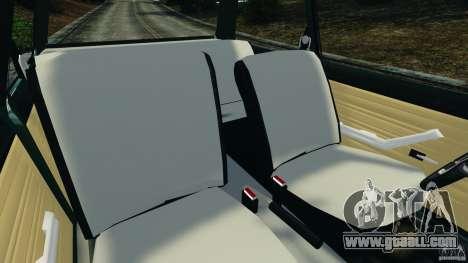 Chevrolet Chevette 1976 for GTA 4 inner view