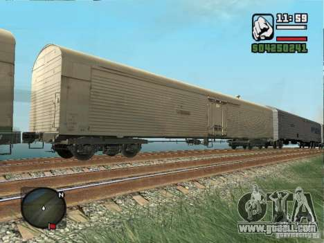 Refrigerated wagon Dessau for GTA San Andreas
