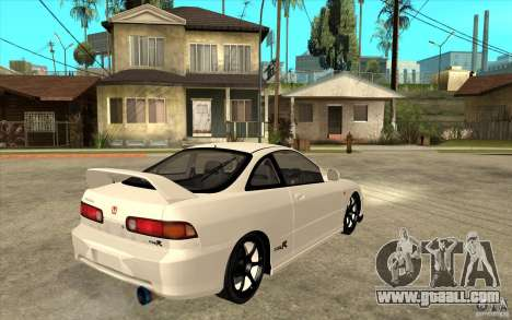 Honda Integra Spoon Version for GTA San Andreas right view