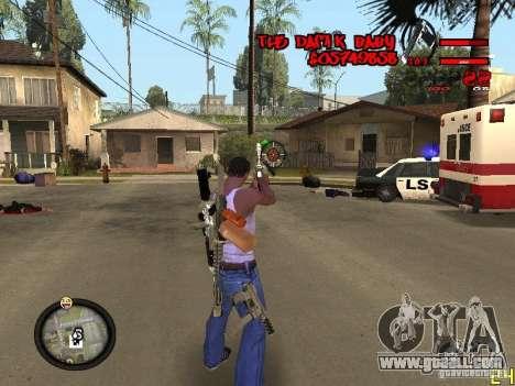 Hud by Dam1k for GTA San Andreas third screenshot