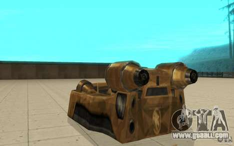 The Vortex of the game Command and Conquer Reneg for GTA San Andreas back left view