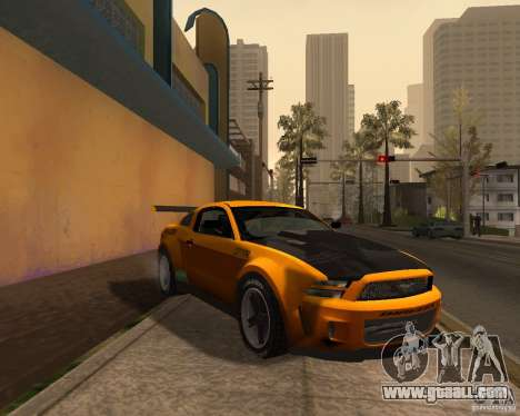 Ford Mustang GT-R 2010 for GTA San Andreas