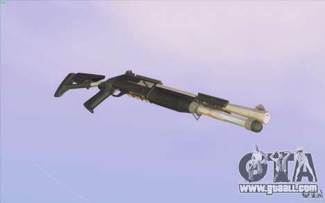 Low Chrome Weapon Pack for GTA San Andreas forth screenshot