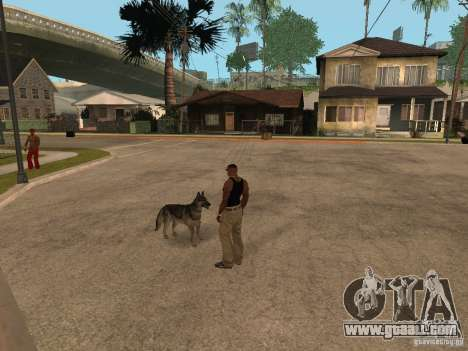 Dog in GTA San Andreas for GTA San Andreas
