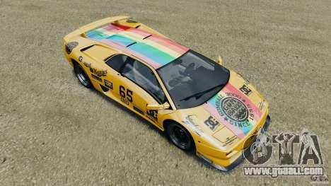 Lamborghini Diablo SV 1997 v4.0 [EPM] for GTA 4 wheels