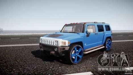Hummer H3 for GTA 4