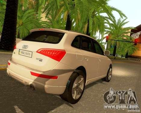 Audi Q5 for GTA San Andreas engine