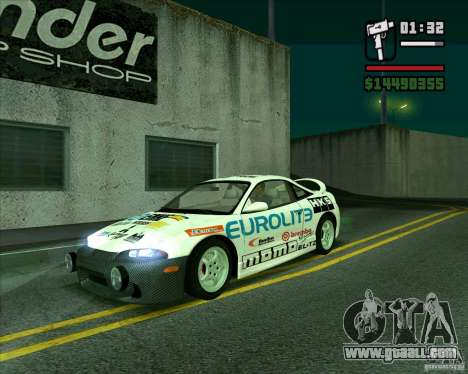 Mitsubishi Eclipse GST for GTA San Andreas