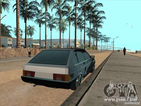 VAZ 21093i Light Tuning for GTA San Andreas back left view