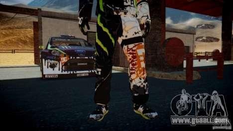 Ken Block Gymkhana 5 Clothes (Unofficial DC) for GTA 4 seventh screenshot