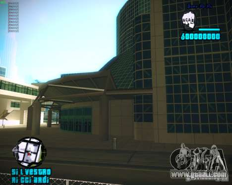 Hud from Silvestro for GTA San Andreas