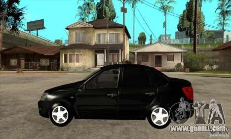 Lada Granta for GTA San Andreas left view