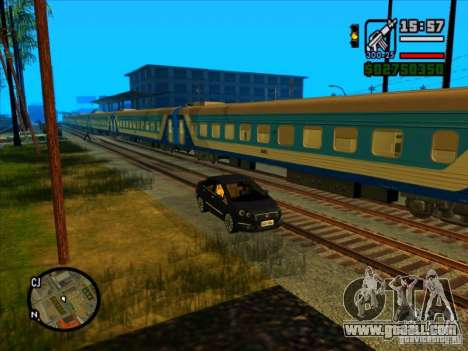 Long train for GTA San Andreas fifth screenshot