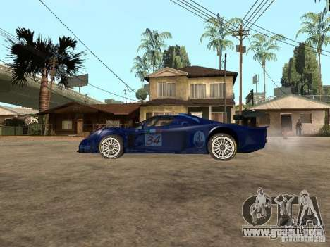 Maserati MC 12 GTrace for GTA San Andreas left view