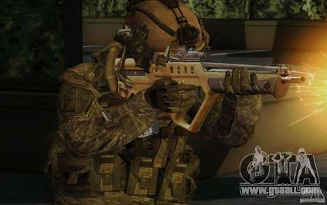 Tavor Tar-21 Desert for GTA San Andreas second screenshot