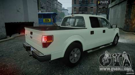 Ford F150 XLT v1.3 for GTA 4 left view