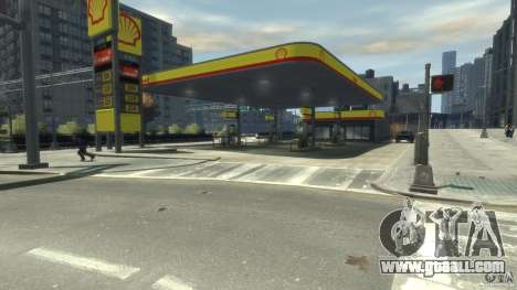 Shell Petrol Station for GTA 4