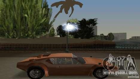 De Tomaso Pantera for GTA Vice City back view