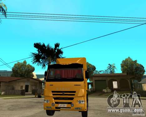 KAMAZ 5460M TAI version 1.5 for GTA San Andreas