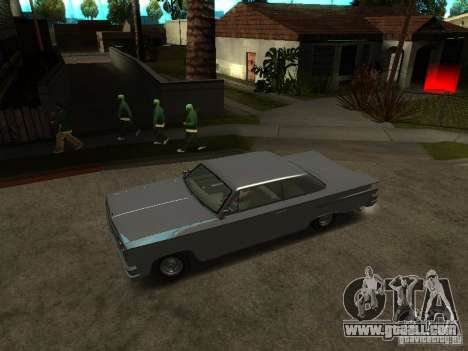 Voodoo in GTA IV for GTA San Andreas right view