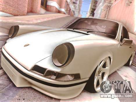 Porsche Carrera RS 1973 for GTA San Andreas back view