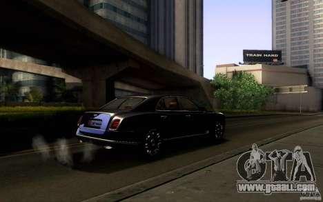 Bentley Mulsanne 2010 v1.0 for GTA San Andreas wheels