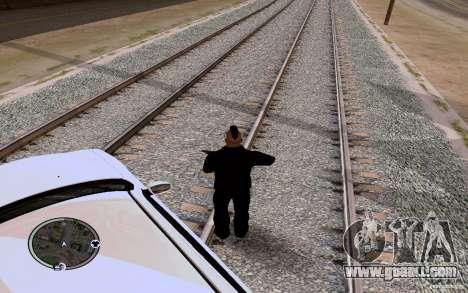 Russian Rails for GTA San Andreas second screenshot