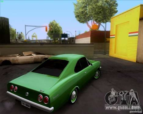 Chevrolet Opala 6CC 1979 for GTA San Andreas right view
