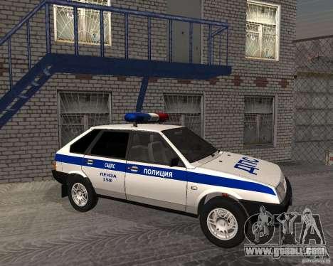 VAZ 2109 DPS for GTA San Andreas