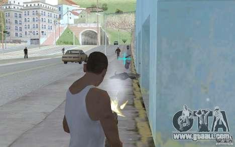 Blue sight for GTA San Andreas