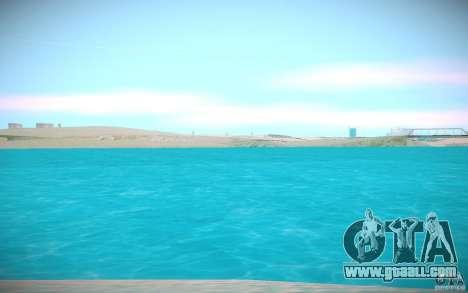 HD water for GTA San Andreas