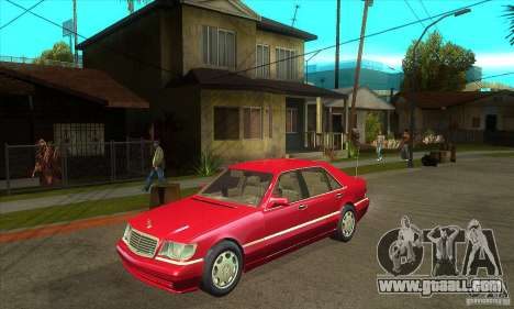 Mercedes-Benz S600 1999 for GTA San Andreas