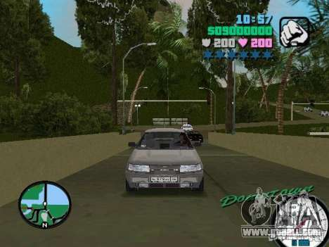 VAZ-2112 for GTA Vice City back left view