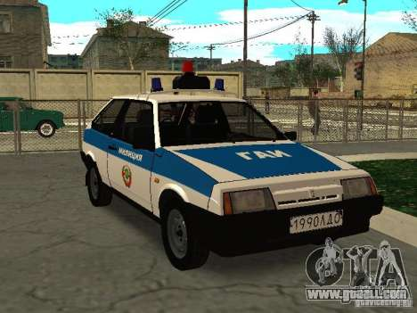 VAZ 2108 Police for GTA San Andreas