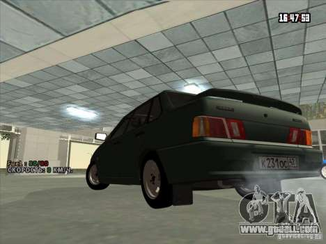 VAZ 2115 Drain for GTA San Andreas back left view