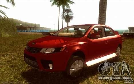 Kia Rio for GTA San Andreas