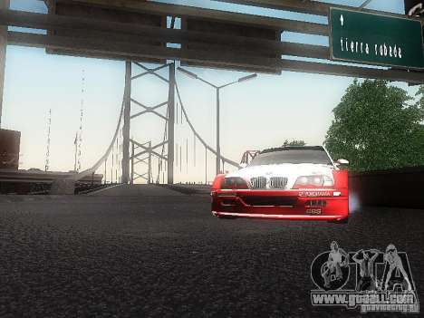 BMW M3 GTR1 for GTA San Andreas right view