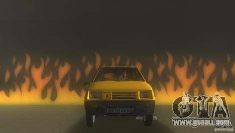 VAZ 1111 Oka Sedan for GTA Vice City back left view