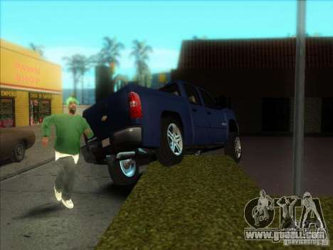 Chevrolet Silverado 1500 for GTA San Andreas right view
