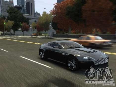 Aston Martin V12 Vantage 2010 V.2.0 for GTA 4 inner view